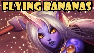 Soraka and the Flying Bananas of Destiny