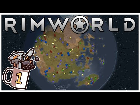 RimWorld - #1 - Cryostasis Problem - Let's Play / Gameplay