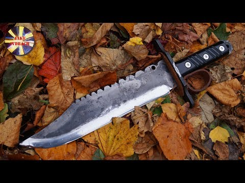 World Best Biggest Custom BOWIE KNIFE Iron Mistress LEG.XIIII Legend Of The West Collection
