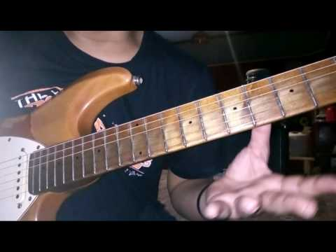 Mengolah G minor blues scale/how to manage your blues scale