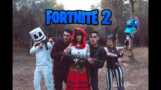 FORTNITE -  PERSONAJES EN LA VIDA REAL 2