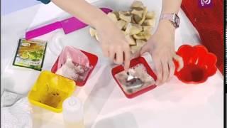 ديما حجاوي تحضر باستا بصلصة البندورة المشوية والثوم المشوي