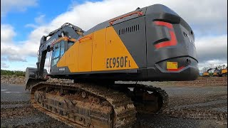 The New Massive Volvo EC950F Excavator