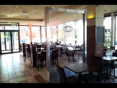 mur d 39 eau d cor action pizzeria del arte brignais youtube. Black Bedroom Furniture Sets. Home Design Ideas