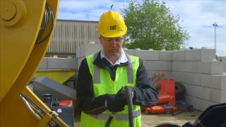 Relieving Hydraulic Pressure (Cat K Series Small Wheel Loader Operator Tips)