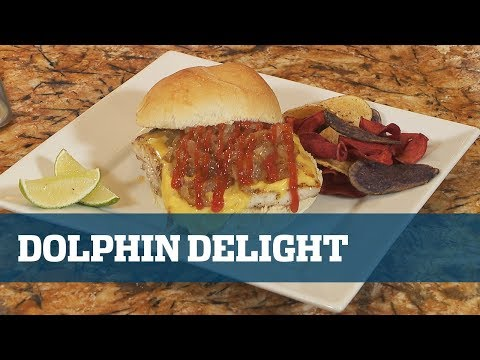 Captain's Kitchen Dolphin Sandwich - Florida Sport Fishing TV