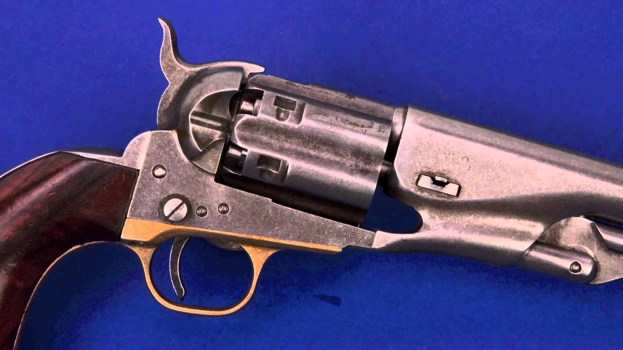 Cimarron Firearms McCollough Colt mov