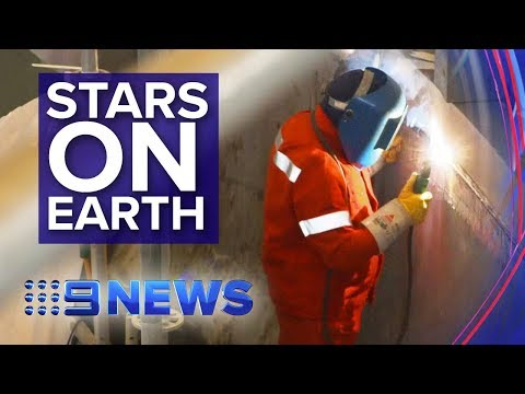 World's largest experiment harnesses science behind the sun | Nine News Australia