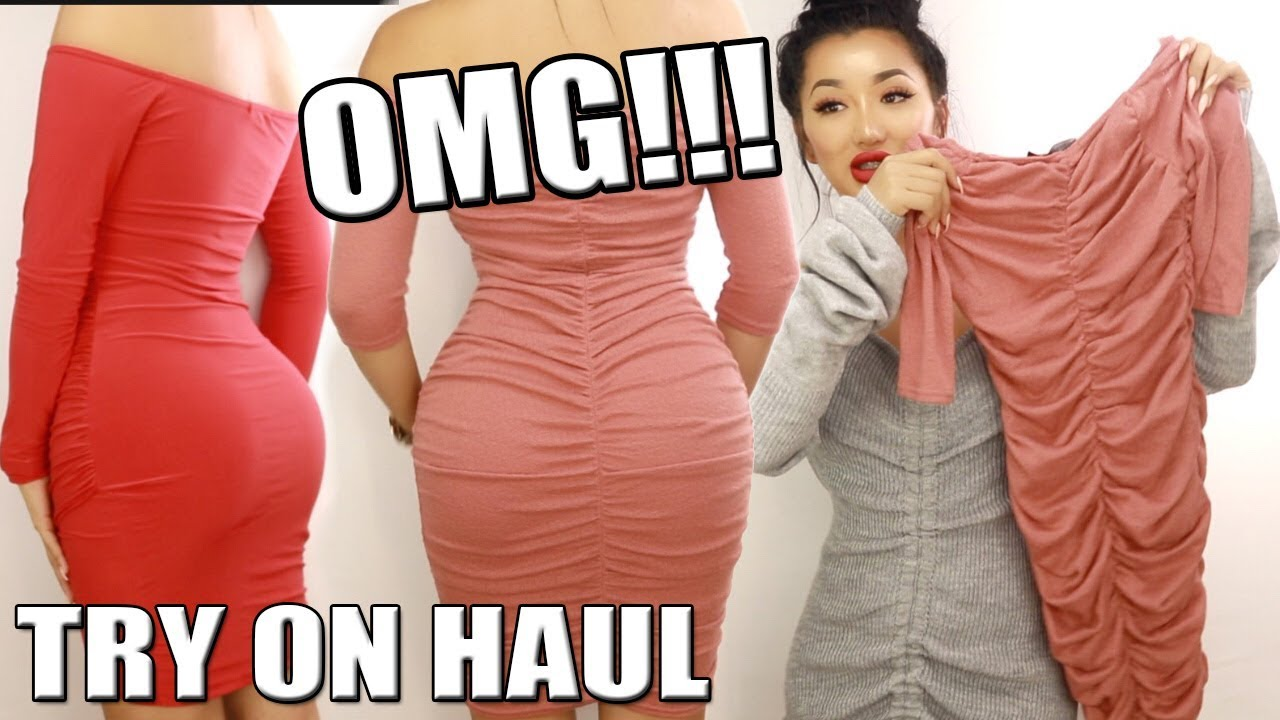 7bc9b9e5e04 HUGE PRETTY LITTLE THING TRY ON HAUL! POST BBL BODY - YouTube