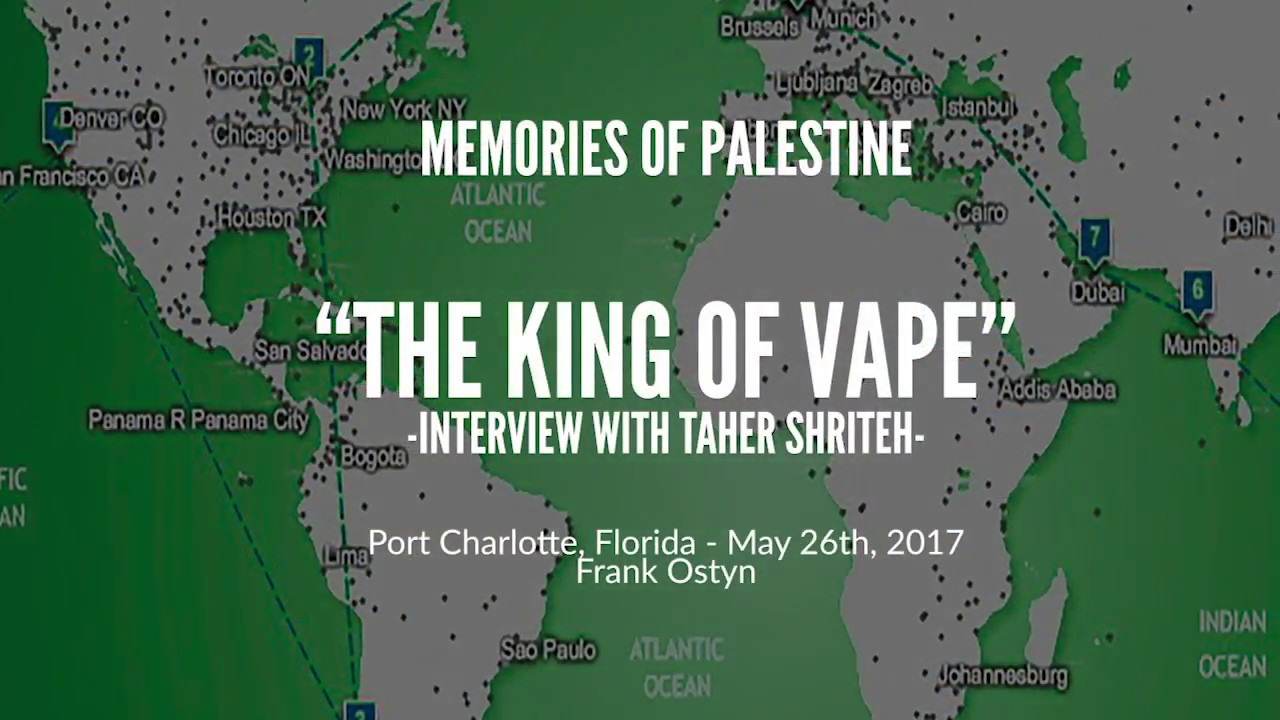 Gaza to Port Charlotte (FL): Taher Shriteh, interview by