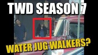 The Walking Dead Season 7 Filming News Water Jug Walkers Season 7 Episode 13 News