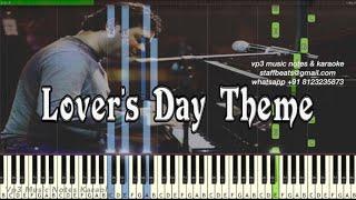 AR Rahman Theme (lover's day) kadalar dinam/ premikula roju/Piano, Guitar, Flute, Saxophone, Voilin