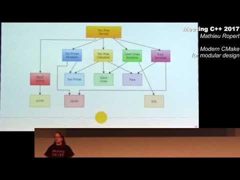 Modern CMake for modular design - Mathieu Ropert - Meeting C++ 2017