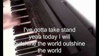 Donots - outshine the world - piano cover