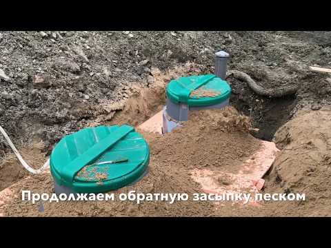 """Установка загородной канализации """"Росток"""". Септик """"Rostok"""" Коттеджный и биофильтр """"Rostok"""" Плюс."""