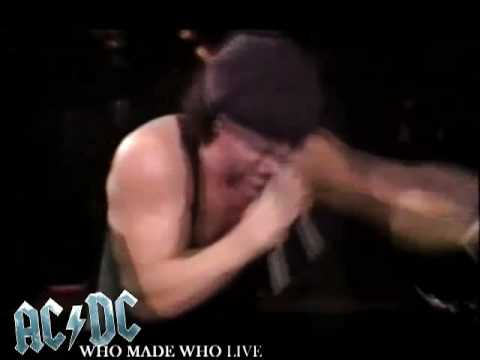 AC/DC - Who Made Who LIVE! [AMAZING QUALITY!]