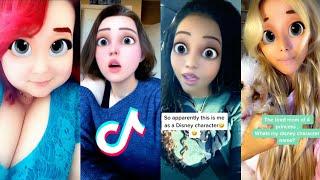 How You Look aṡ a Disney Princess Filter - TIKTOK COMPILATION