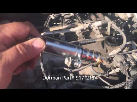 2010-2014 chevy equinox Cleaning PCV valve  by Uriel Rios