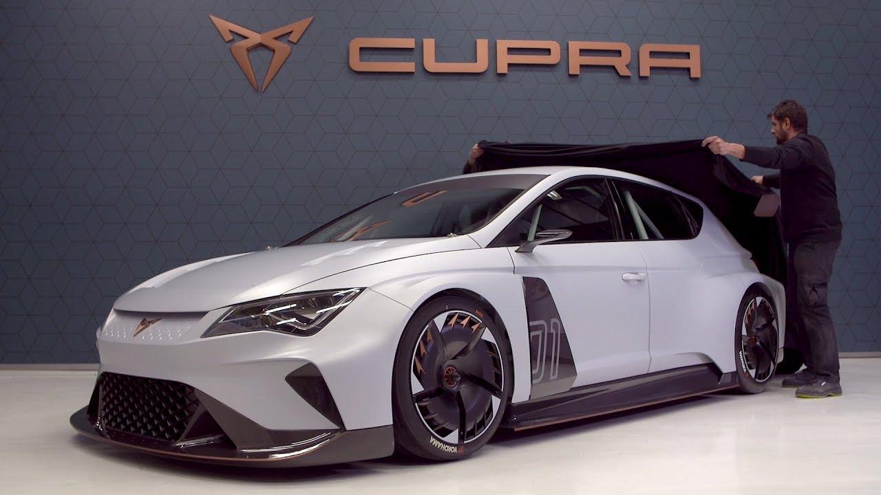 Cupra E Racer Making Of Electric Race Car
