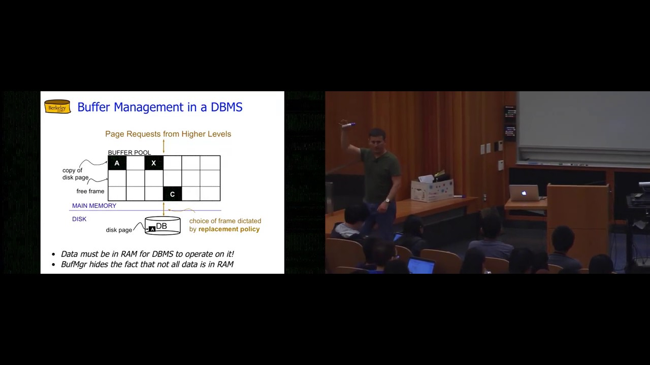 Lecture 06  Organizing Data: Page Directory and Indexes (CS 186, Spring  2015, UC Berkeley)