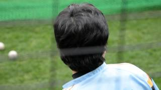 2014/2/08 巨人宮崎キャンプ 高橋由伸選手トスバッティングです! 途中...