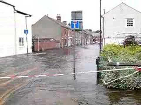 Botley Road and Earle Steet Oxford Flood