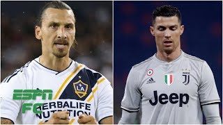 Zlatan Ibrahimovic calls out Cristiano Ronaldo -- was it unfair? | Extra Time