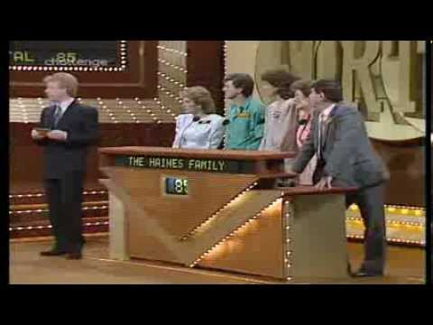 Family Fortunes Name A Regional Itv Company 1988 Youtube