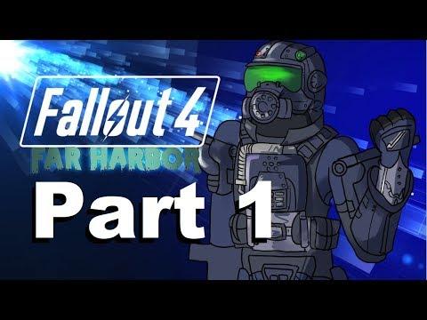 Fallout 4 Far Harbor DLC |BEWARE THE CRYOLATOR| Part 1