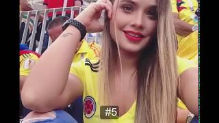 Top 12 Most Beautiful Girl Fans Captured in FIFA World Cup Russia 2018