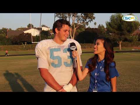 CIF-SS Top Recruit Center Sean Owens of Corona del Mar High School