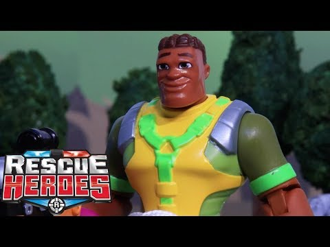 Rescue Heroes™ - Hope Springs | Kids Heroes | Fisher-Price | Stop-Motion | Toy Play