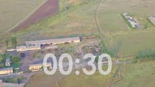 На видео засняли уничтожение зенитки сепаратистов АТО