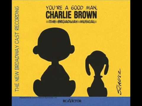 03 Snoopy Youre a Good Man Charlie Brown 1999 Broadway Revival