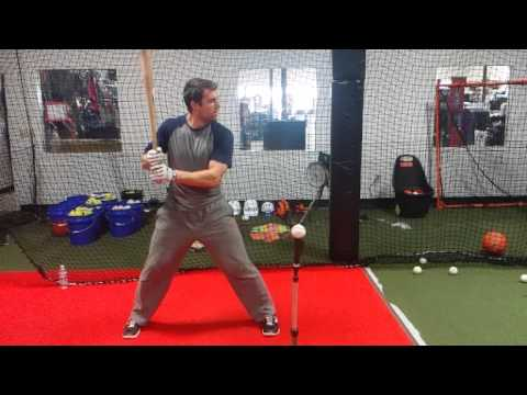 Chris Taylor | Los Angeles Dodgers | Hitting Bootcamp | slow motion swing