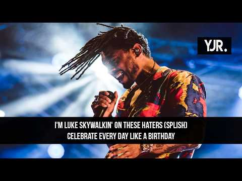 MIGUEL - SKY WALKER ft. TRAVIS SCOTT (LYRICS)