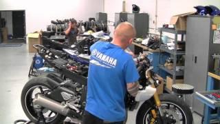 Graves Motorsports Yamaha R6 Race Sport Bike Build - Part 1