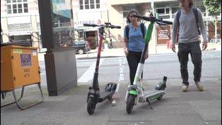E-Scooter: Wenn Roller zur Stolperfalle werden