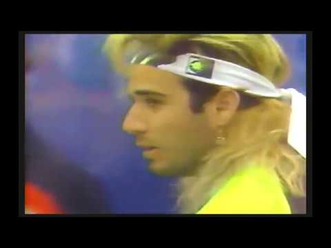 Pete Sampras vs Andre Agassi  Final Us Open 1990