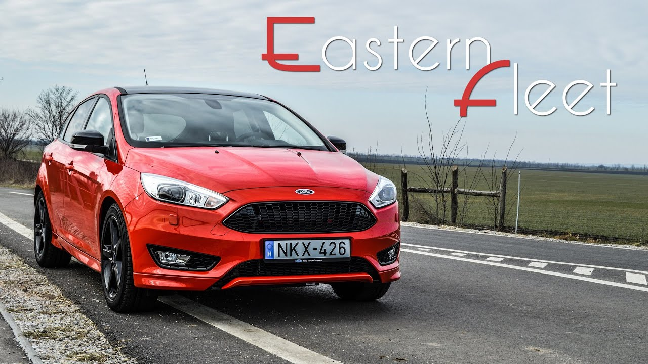 Ford focus st line red edition showcase 2016 european model eastern fleet cars youtube