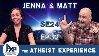 The Atheist Experience 24.32 with Matt Dillahunty & Jenna Belk YouTube Videos
