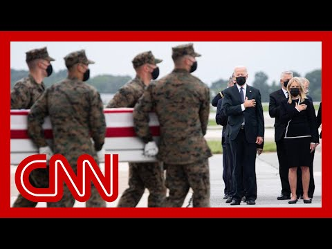 Biden attends dignified transfer of the service members killed in Kabul