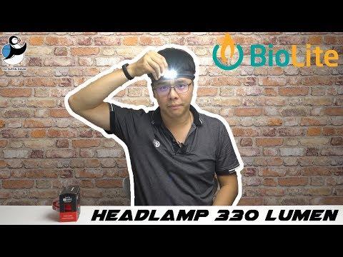 192. Review ไฟฉายคาดหัว biolite รุ่น Headlamp 330 lumen