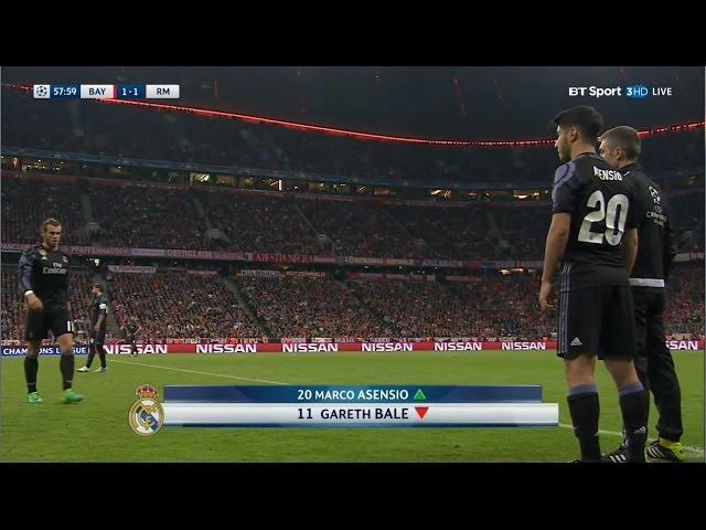 Marco Asensio vs Bayern Munich Away (12/04/2017) HD 1080i by Asensio20™