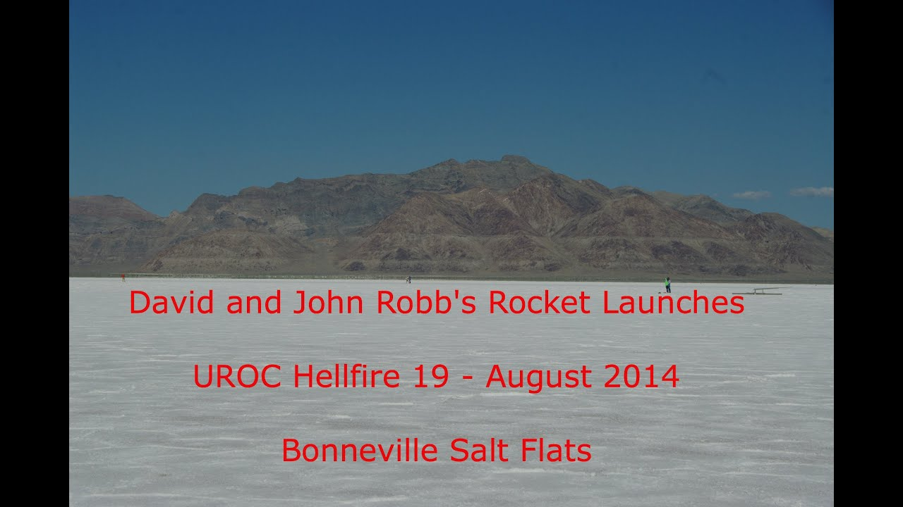 2014 August UROC Hellfire 19 - David and John Robb's Rocket Launches