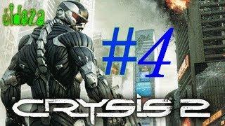 Crysis 2 серія № 4 йдемо збирати зразки [ виходимо в місто ]