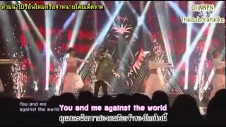 [Thaisub+Karaoke] G-DRAGON 130929 SBS Inkigayo R.O.D Feat.CL