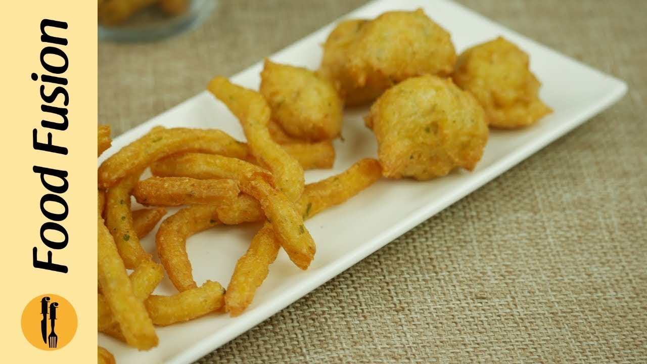 Potato Puffs Recipe By Food Fusion