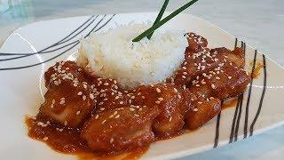 YUM-YUM Sweet and Sour Chicken | Курица в кисло-сладком соусе