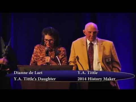 History Maker 2014: Y.A. Tittle